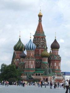 Röda torget i Ryssland