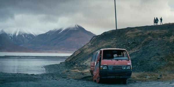 berg och bilvrak