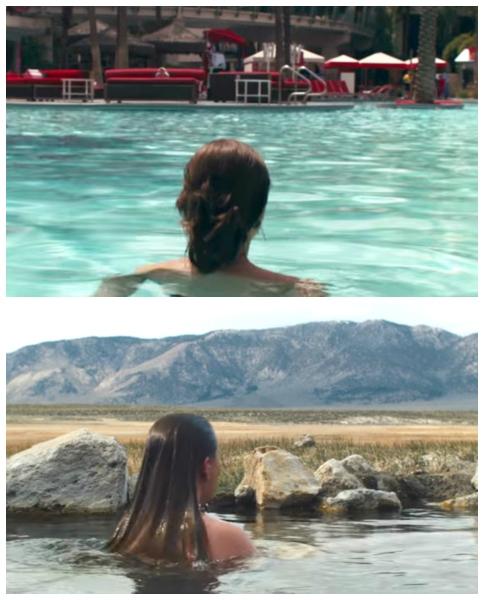 tove badar naken i las vegas